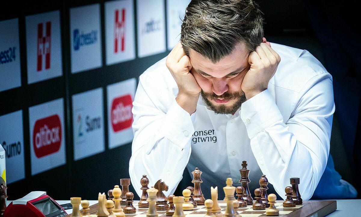 Carlsen không thua Caruana ở cờ tiêu chuẩn suốt 5 năm qua. Ảnh: Lennart Ootes/Norway Chess