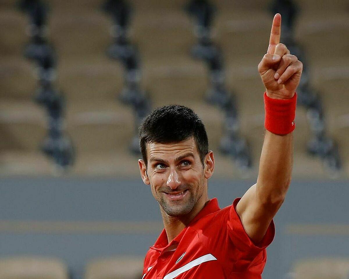 Djokovic nghỉ hai tuần trước khi thi đấu trở lại. Ảnh: AP.