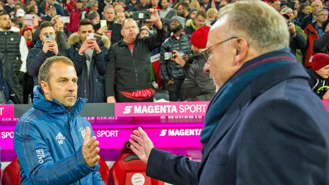 Canh bạc của ban lãnh đạo Bayern khi bổ nhiệm Flick đã thành công ngoài mong đợi. Ảnh: imago.