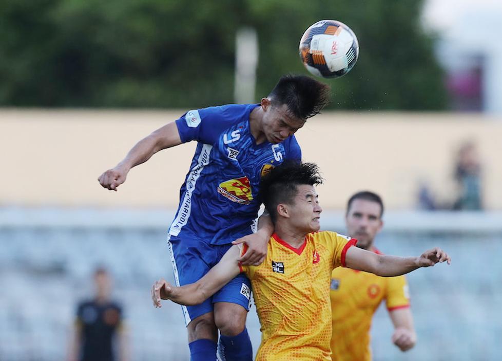 Quảng Nam từng đánh bại Thanh Hóa 2-1 ở vòng ba, giai đoạn một V-League 2020.