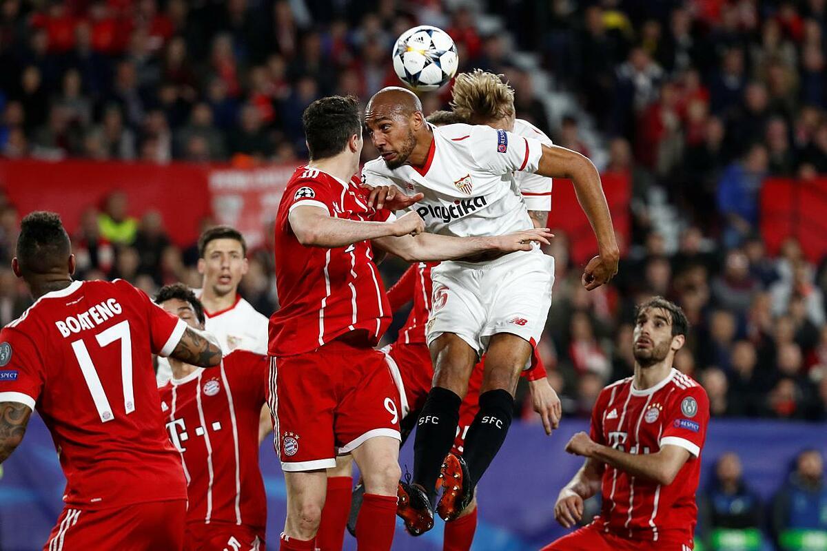Bayern từng gặp Sevilla hai lần ở các trận đấu chính thức. Ảnh: Reuters.