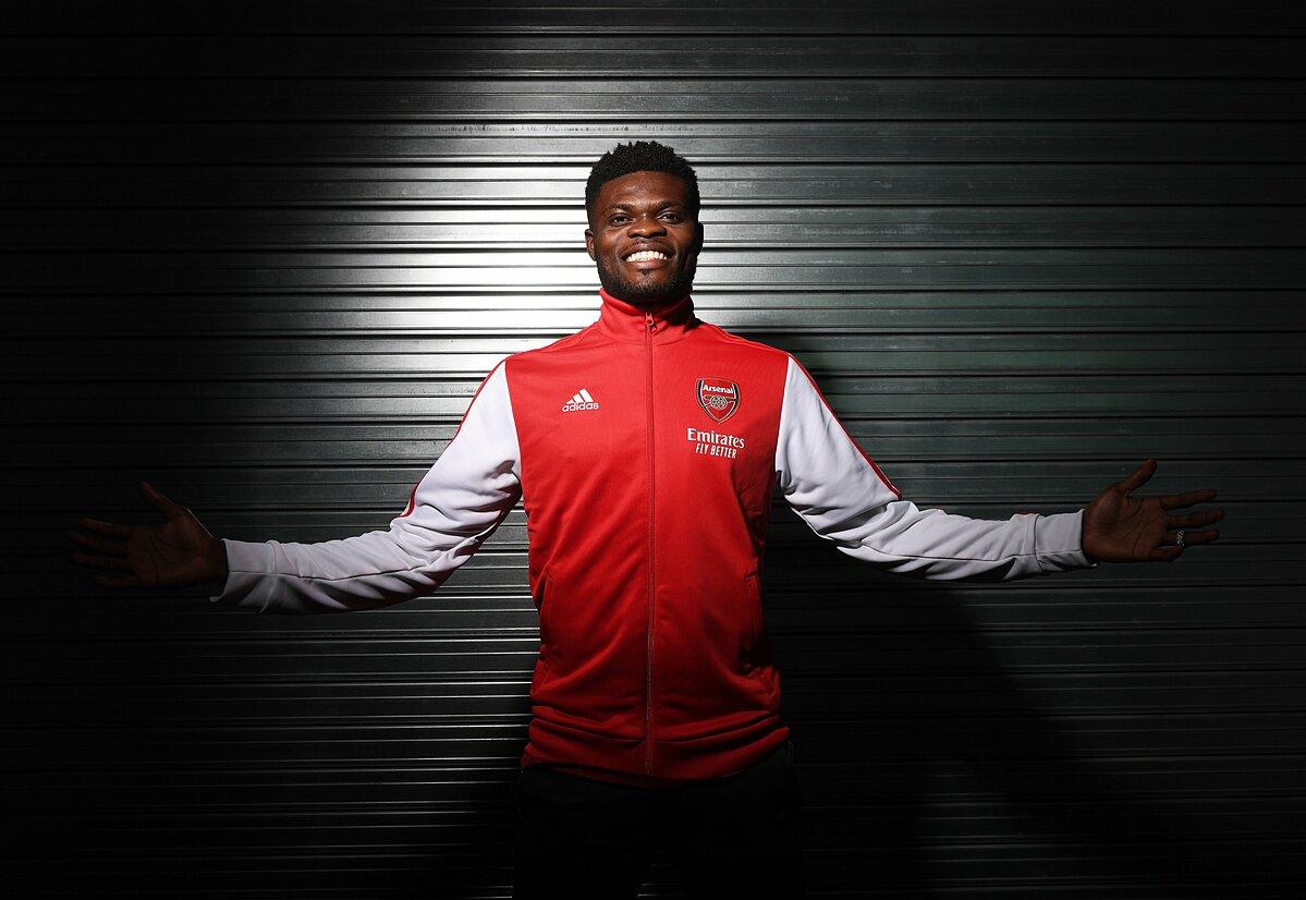 Partey đến Arsenal với kỳ vọng rất lớn, sau vụ chuyển nhượng trị giá 58 triệu USD từ Atletico. Ảnh: AFC