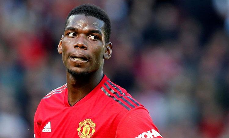 Pogba có thể ra đi tự do hè tới, nếu Man Utd không gia hạn. Ảnh: Reuters.