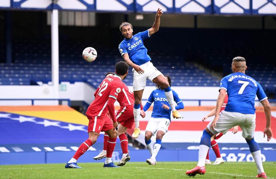 Calvert-Lewin ghi 10 bàn trong tám trận cho Everton kể từ đầu mùa. Ảnh: PA