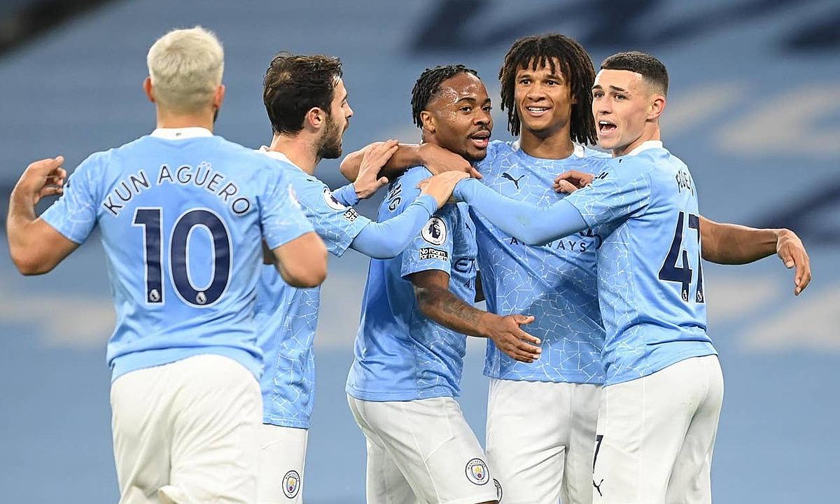 Man City thắng trận thứ hai mùa này. Ảnh: Reuters