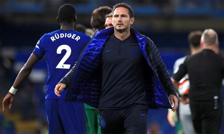 Lampard cho rằng Chelsea thiếu tập trung khi bị Southampton cầm hòa 3-3 dù dẫn 2-0 hôm 17/10. Ảnh: Reuters.