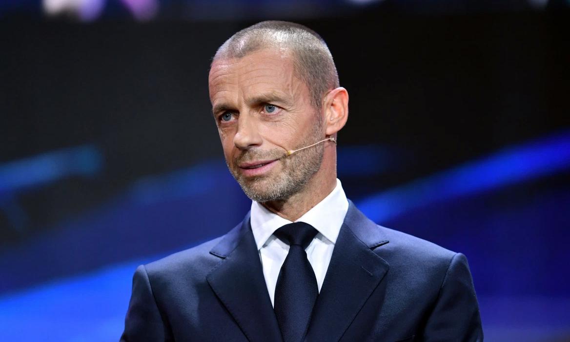 Chủ tịch UEFA Aleksander Ceferin từng có nhiều ý kiến cải cách Champions League. Hồi năm ngoái, ông dự định chia 32 đội thành 4 bảng, mỗi bảng 8 đội để tăng số trận đấu. Ảnh: EPA.