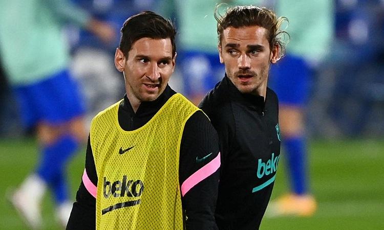 Wenger cho rằng nhượng bộ Messi sẽ không tốt cho Griezmann về lâu dài. Ảnh: AS.