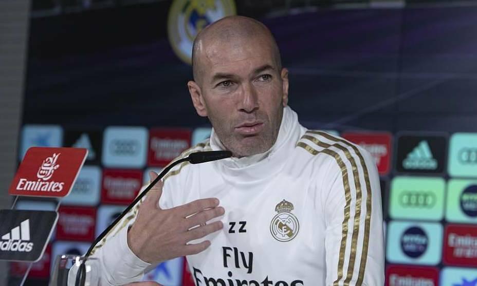 Zidane là HLV duy nhất của Real chưa từng thua Barca tại Camp Nou. Ảnh: Marca