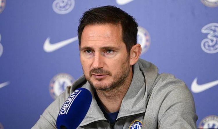 Lampard thắng một và thua ba trong bốn lần chạm trán Man Utd của HLV Solskjaer. Ảnh: Express.