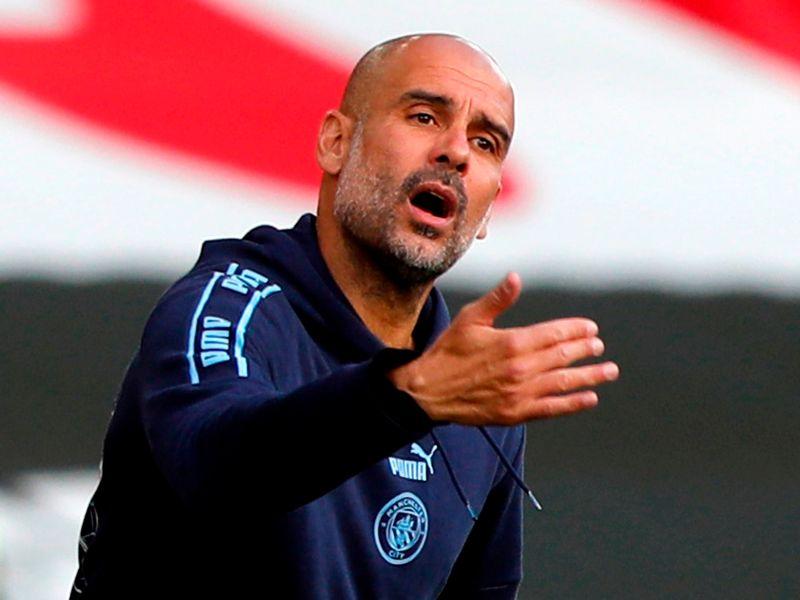 Guardiola thắng cả năm trận gần nhất gặp West Ham, với tổng tỷ số 22-1. Ảnh: Sky.