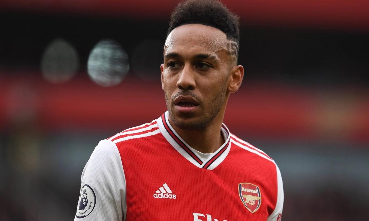 Aubameyang gia nhập Arsenal từ tháng 1/2018, đã 90 trận, ghi 50 bàn cho đội tại Ngoại hạng Anh. Ảnh: PA