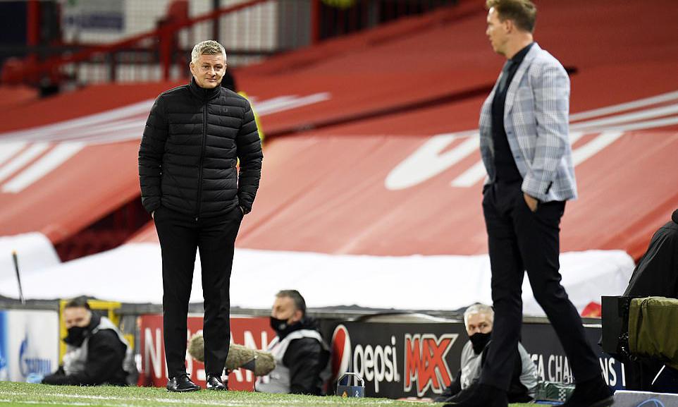 Solskjaer có chiến thắng đậm nhất kể từ ngày làm HLV Man Utd khi đè bẹp Leipzig 5-0. Ảnh: EPA.