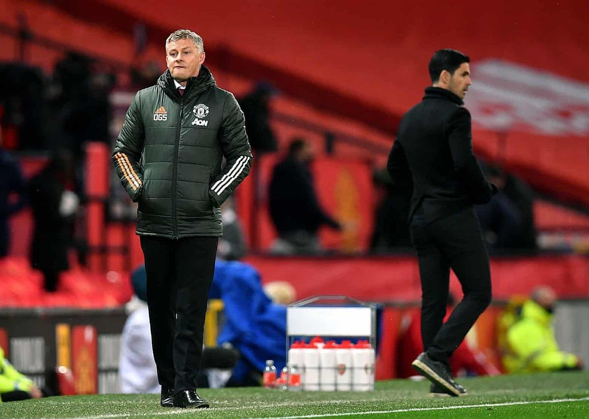 Man Utd của Solskjaer chưa thể thắng trên sân nhà tại Ngoại hạng Anh mùa này. Ảnh: PA.