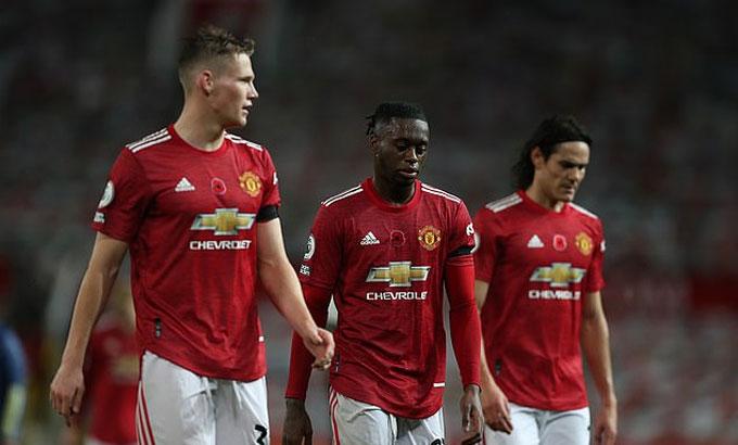 Man Utd hòa một và thua ba trong bốn trận đầu trên sân nhà ở Ngoại hạng Anh mùa này. Ảnh: NMC.