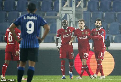 Jota (số 20) đã ghi bảy bàn trong 10 trận cho Liverpool. Ảnh: Reuters.