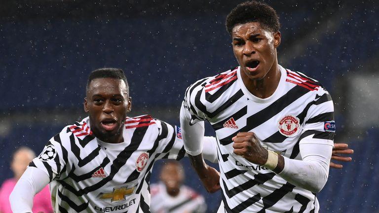 Man Utd thể hiện bộ mặt hoàn toàn khác mỗi khi xa nhà, với năm chiến thắng từ đầu mùa. Ảnh: Sky.