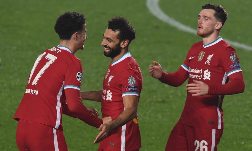 Salah đã ghi 103 bàn sau 164 trận cho Liverpool trên mọi đấu trường. Ảnh: LFC.