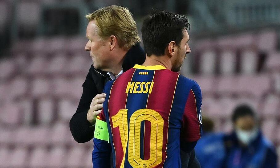 Koeman ปกป้อง Messi เป็นครั้งที่สองภายในไม่กี่วันหลังจากประท้วง Quique Setien และสื่อ  ภาพ: Teller Report