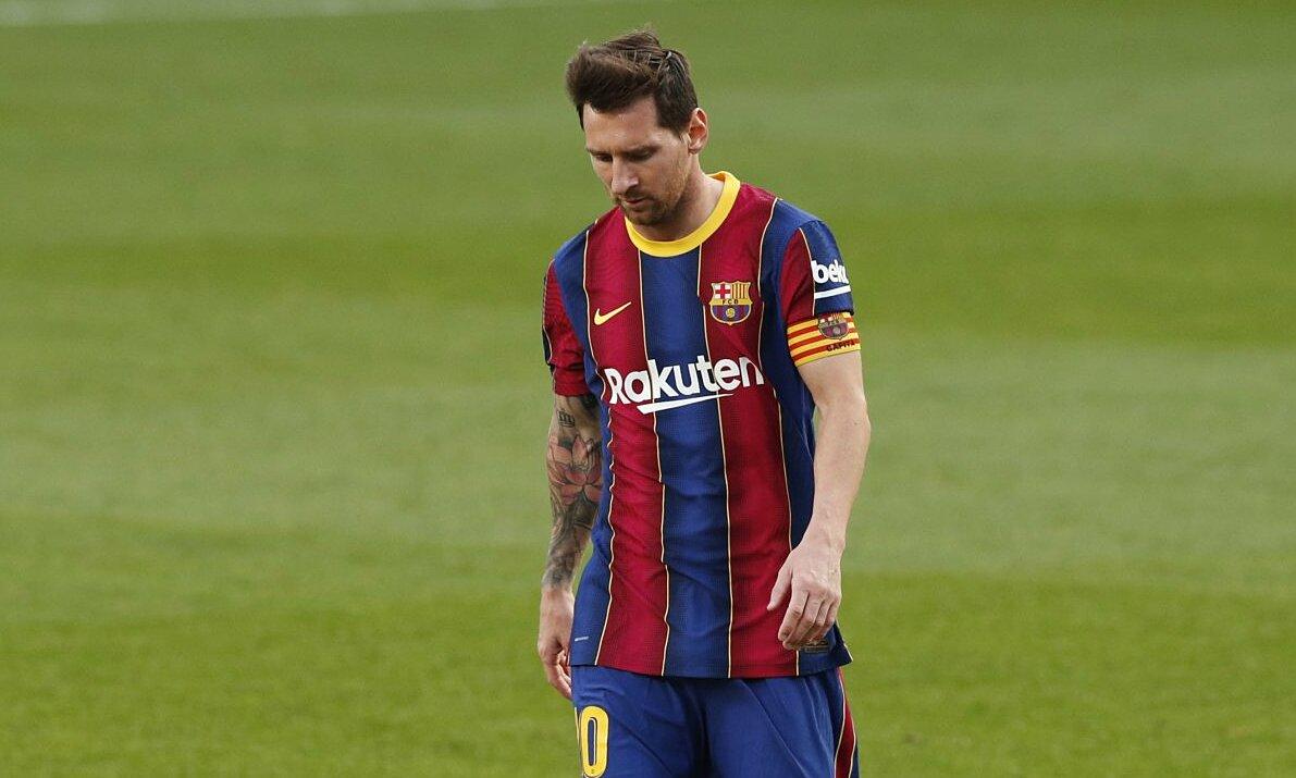 เมสซี่ตะลึงในห้าเกมหลังในลาลีกา  ภาพ: Reuters