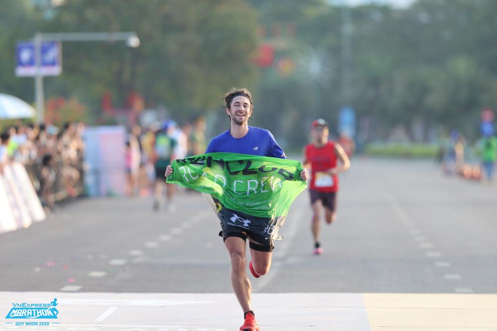 Vùng trung tâm khỏe có thể giúp runner chạy nhanh hơn. Ảnh: VnExpress Marathon Quy Nhơn.