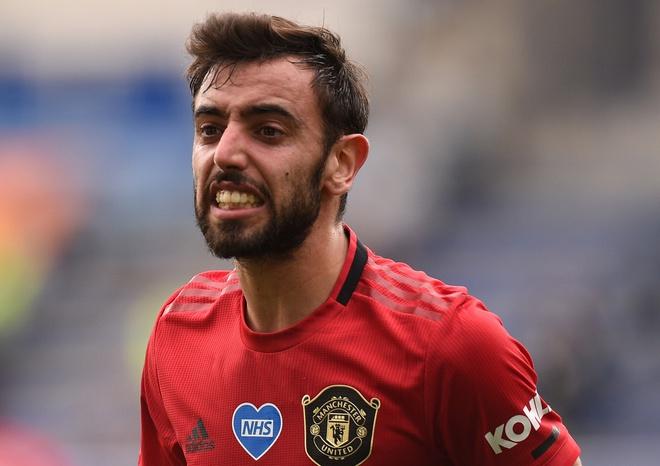 Fernandes đã ghi 18 bàn trong 33 trận chơi cho Man Utd, dù chỉ là một tiền vệ. Ảnh: Reuters.