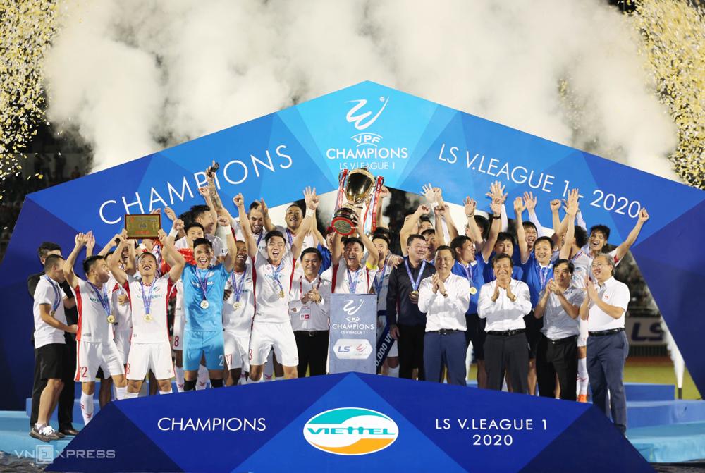 เวียตเทลยกระดับแชมป์วีลีก 2020 เป็นวันที่ 8 พฤศจิกายนที่สนามทองนาถ