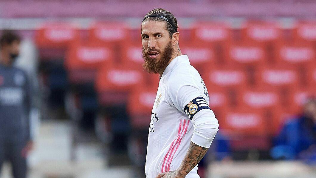 Sergio Ramos - một trung vệ - là chân sút số hai của Real mùa trước với 11 pha lập công. Ảnh: Eurosport.