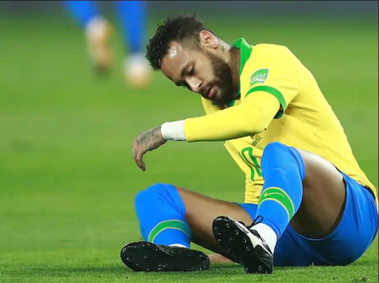 เนย์มาร์ร่วมเป็นผู้นำในการทำคะแนนสำหรับฟุตบอลโลก 2022 รอบคัดเลือกทวีปอเมริกาใต้โดยทำสามประตู  ภาพ: AFP