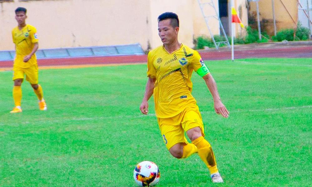 Trần Tấn Tài là thủ quân của CLB Gia Định tại giải hạng Nhì 2020. Ảnh: Gia Định FC