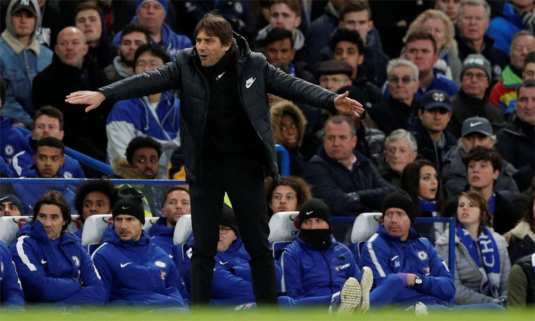 Conte luyến tiếc vì không thể chiêu mộ Van Dijk và Lukaku khi dẫn dắt Chelsea. Ảnh: Reuters.