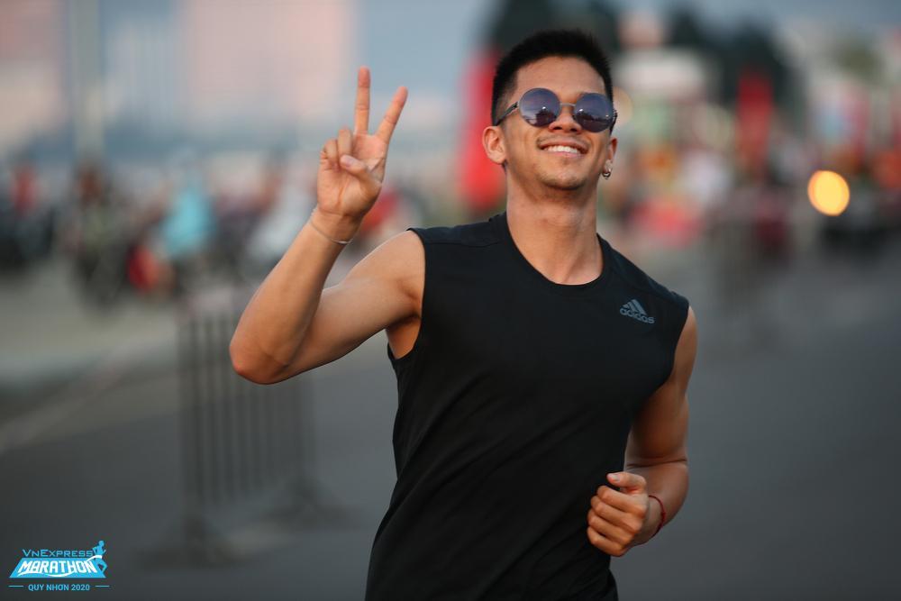 Ca sĩ Trong Hiếu là một trong hơn 5.400 vận động viên tham gia giải năm ngoái.