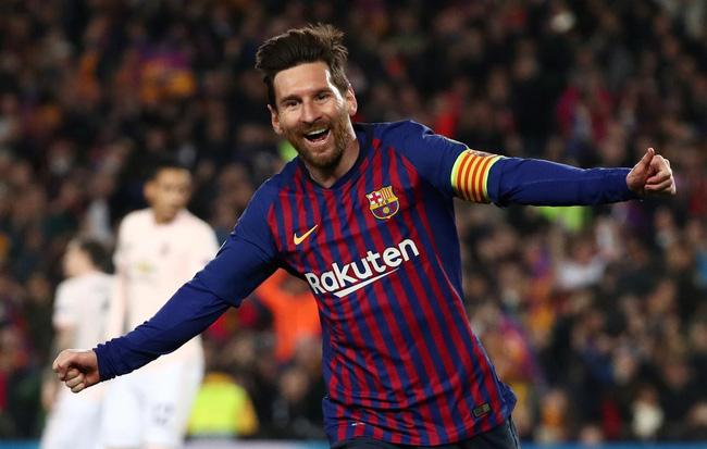 Messi đã ghi 640 bàn trong 741 trận cho Barca. Ảnh: Reuters.