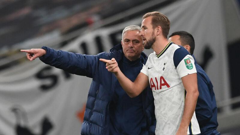Sau những năm tháng khó khăn ở Chelsea rồi Man Utd, Mourinho đang gây ấn tượng trở lại tại Tottenham. Ảnh: AFP.