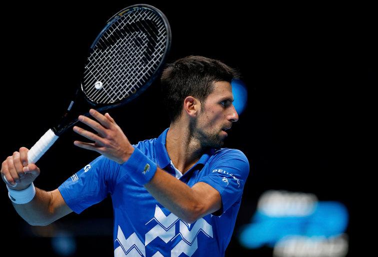 Djokovic trắng tay ở ATP Finals từ năm 2016 dù có hai lần vào chung kết. Ảnh: Tennisnet.