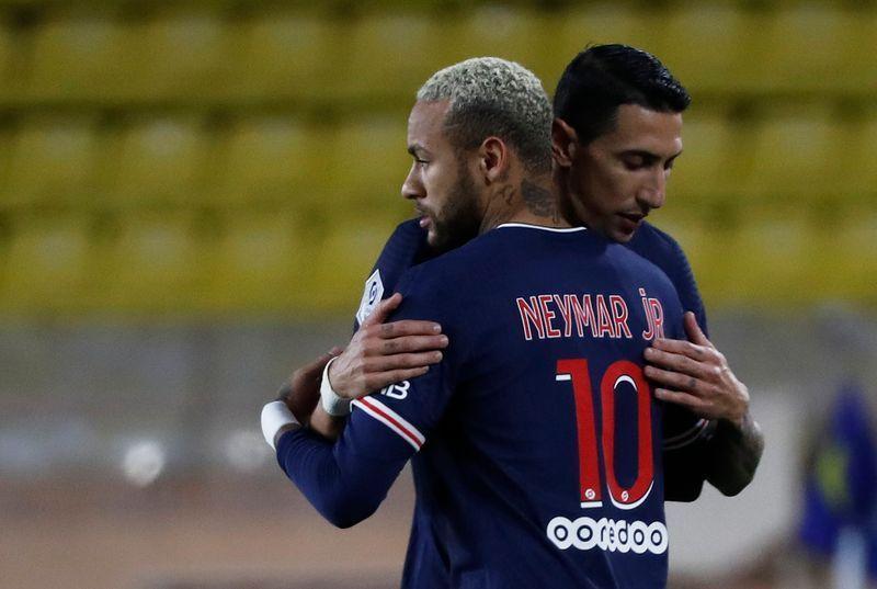 PSG có sự hiện diện của những ngôi sao hàng đầu như Neymar, Di Maria, Mbappe. Ảnh: Reuters.