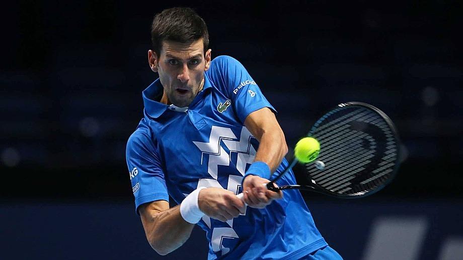 Djokovic có 18 điểm winner, so với 38 của Zverev. Ảnh: ATP.