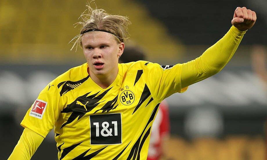 Haaland đã ghi 27 bàn trong 29 trận cho Dortmund. Ảnh: Reuters