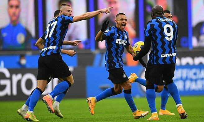 Lukaku ghi chín bàn, kiến tạo hai bàn trong chín trận cho Inter mùa này. Ảnh: CDS
