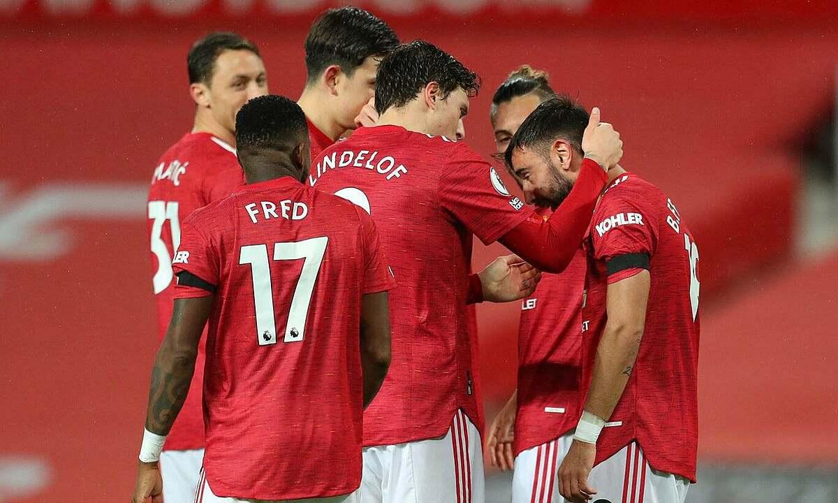Man Utd thắng trận đầu trên sân nhà ở Ngoại hạng Anh mùa này, dứt chuỗi bốn trận hòa và thua. Ảnh: Reuters
