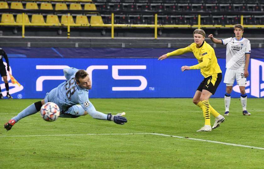 Haaland đưa Dortmund tới gần vòng 1/8 - VnExpress Thể thao