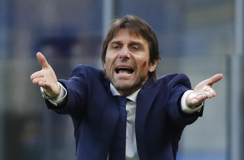 Conte chưa lần nào vô địch Champions League dưới tư cách HLV. Ảnh: Reuters.
