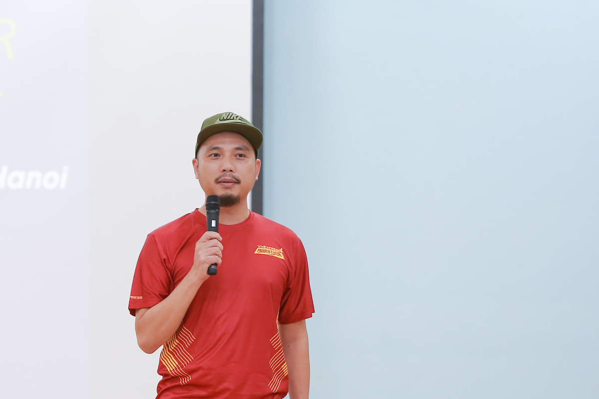 Mr. Duong Dinh Viet, Running and Creative Director of VM Hanoi Midnight.
