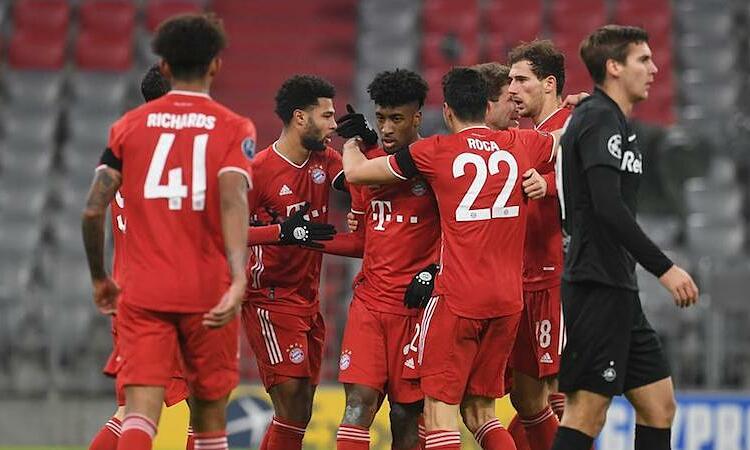 Bayern thắng trận thứ 15 liên tiếp tại Champions League. Ảnh: Reuters.