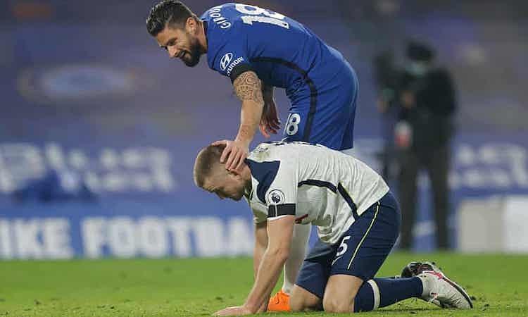 Cả Chelsea lẫn Tottenham đều không thể tận dụng những cơ hội ghi bàn. Ảnh: Guardian.