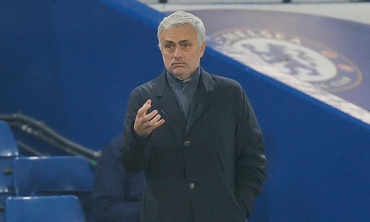 Trận hòa Chelsea khiến tỷ lệ thắng của Mourinho với Tottenham giảm xuống 53%, thấp nhất trong những giai đoạn cầm quân của ông kể từ khi ở Porto. Ảnh: Reuters