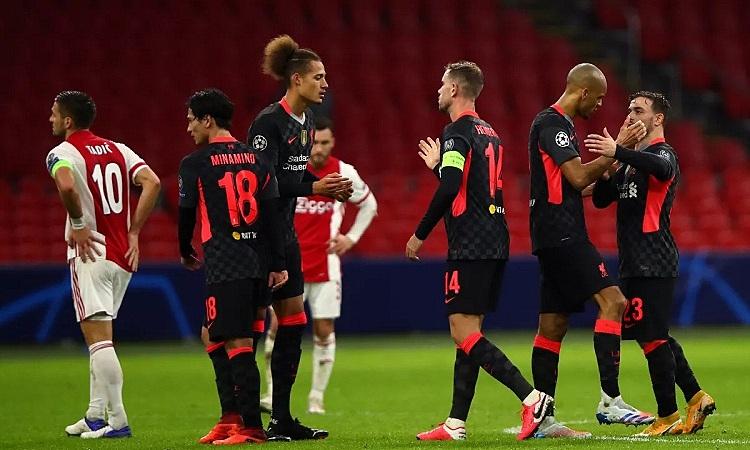 Liverpool thắng 1-0 trên sân Ajax ở lượt đi. Ảnh: AFP.