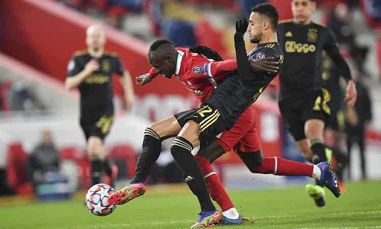 Ajax gây khá nhiều khó khăn cho Liverpool nhưng vẫn ra về trắng tay. Ảnh: AP.