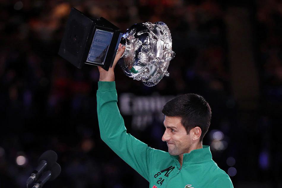 Novak Djokovic là đương kim vô địch đơn nam Australia Mở rộng. Ảnh: ABS.