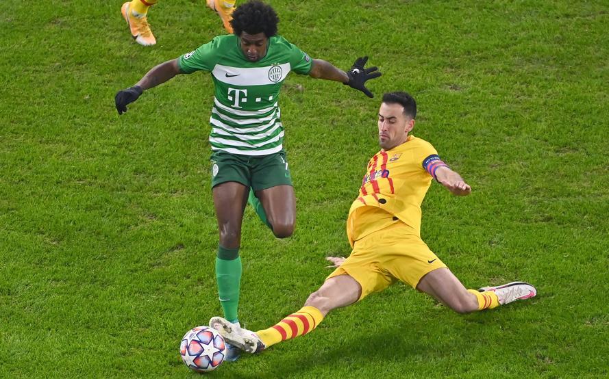 Ferencvaros thua xa trong cả khâu tấn công lẫn phòng ngự.